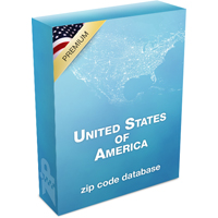 Zip Code Database - Premium Edition